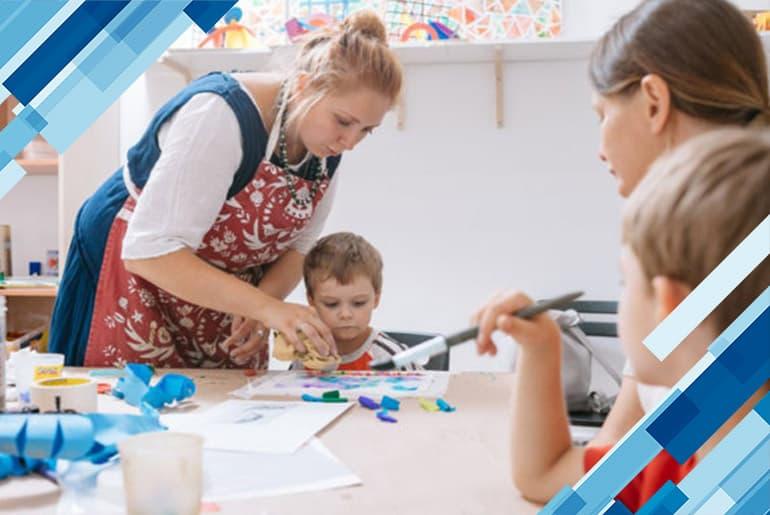 Студия детского творчества в Польше
